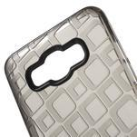 Square gelový obal na Samsung Galaxy J5 (2016) - šedý - 4/5