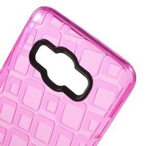 Square gelový obal na Samsung Galaxy J5 (2016) - rose - 4