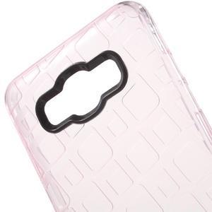 Square gelový obal na Samsung Galaxy J5 (2016) - růžový - 4