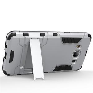 Odolný kryt na mobil Samsung Galaxy J5 (2016) - stříbrný - 4