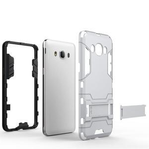 Odolný kryt pre mobil Samsung Galaxy J5 (2016) - šedomodrý - 4