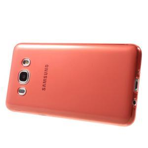 Ultratenký slim gelový obal na Samsung Galaxy J5 (2016) - červený - 4