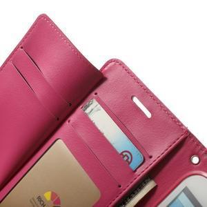 RichDiary PU kožené pouzdro na Samsung Galaxy S3 - růžové - 4