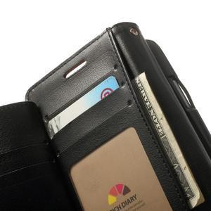 RichDiary PU kožené pouzdro na Samsung Galaxy S3 - hnědé - 4