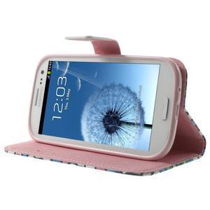 Funy puzdro pre mobil Samsung Galaxy S3 - kvety - 4