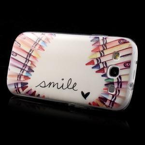 Ultratenký gelový obal na mobil Samsung Galaxy S3 - smile - 4