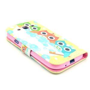 Pictu puzdro pre mobil Samsung Galaxy S3 - sovičky - 4