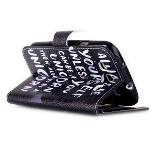 Emotive peněženkové pouzdro na Samsung Galaxy S3 - unicorn - 4