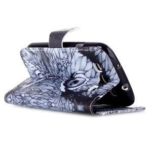 Emotive peňaženkové puzdro pre Samsung Galaxy S3 - sova - 4