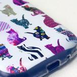 Gloss gélový kryt pre Samsung Galaxy S3 mini - mačičky - 4/4