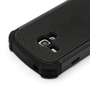Outdoor odolný obal pre mobil Samsung Galaxy S3 mini - čierný - 4