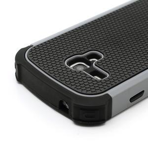 Outdoor odolný obal na mobil Samsung Galaxy S3 mini - šedý - 4
