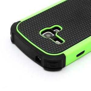 Outdoor odolný obal pre mobil Samsung Galaxy S3 mini - zelený - 4