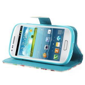 Knížkové pouzdro na mobil Samsung Galaxy S3 mini - autíčka - 4