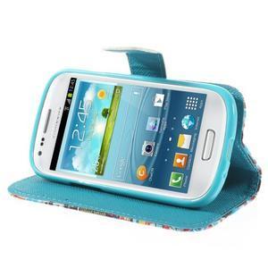 Knížkové puzdro pre mobil Samsung Galaxy S3 mini - New York - 4