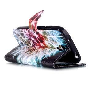 Emotive knížkové pouzdro na Samsung Galaxy S4 - barevená pampeliška - 4