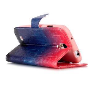 Emotive knížkové pouzdro na Samsung Galaxy S4 - meteory - 4