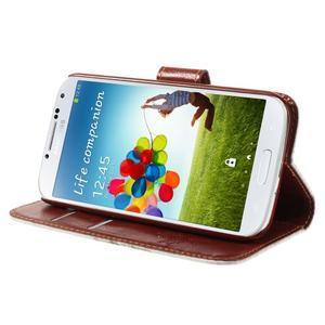 Elegant peněženkové pouzdro na Samsung Galaxy S4 - mortal - 4