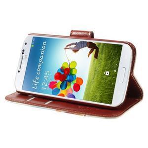 Elegant peňaženkové puzdro pre Samsung Galaxy S4 - Eiffelova veža - 4