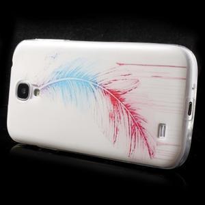 Slim gélový obal pre mobil Samsung Galaxy S4 - pierko - 4