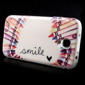 Slim gelový obal na mobil Samsung Galaxy S4 - smile - 4