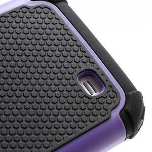 Outdoor odolný silikonový obal pre Samsung Galaxy S4 - fialový - 4