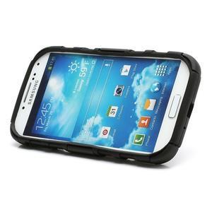 Odolný ochranný silikonový kryt na Samsung Galaxy S4 - černý - 4