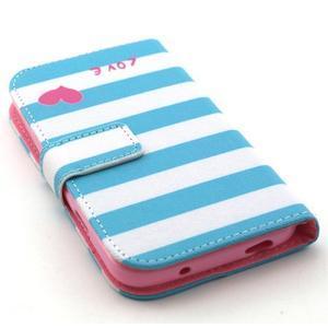 Standy peňaženkové puzdro pre Samsung Galaxy S4 - love - 4