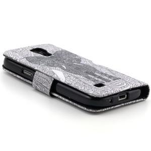 Puzdro na mobil Samsung Galaxy S4 mini - slon - 4