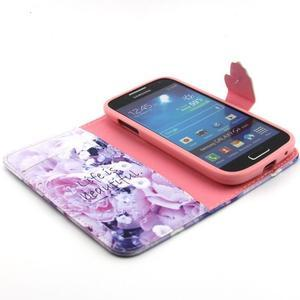 Diaryleather puzdro pre mobil Samsung Galaxy S4 mini - beatiful - 4