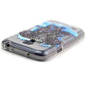 Transparentní gelový obal na Samsung Galaxy S4 mini - slon - 4