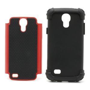 Extreme odolný kryt pre mobil Samsung Galaxy S4 mini - červený - 4