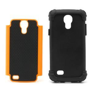 Extreme odolný kryt na mobil Samsung Galaxy S4 mini - oranžový - 4