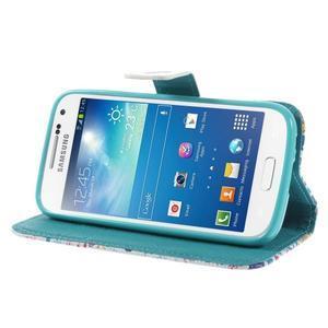 Style peňaženkové puzdro pre Samsung Galaxy S4 mini - Londýn - 4