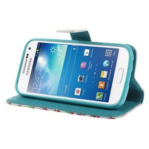 Style peňaženkové puzdro pre Samsung Galaxy S4 mini - autíčka - 4