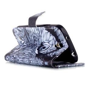 Emotive peňaženkové puzdro pre Samsung Galaxy S4 mini - sova - 4