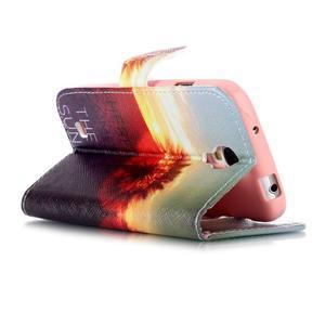 Emotive peňaženkové puzdro pre Samsung Galaxy S4 mini - východ slnka - 4