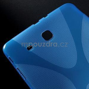 X-line gélové puzdro na tablet Samsung Galaxy Tab E 9.6 - modré - 4