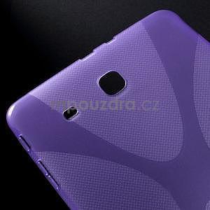 X-line gélové puzdro na tablet Samsung Galaxy Tab E 9.6 - fialové - 4