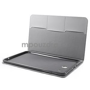Ochranné koženkové puzdro na Samsung Galaxy Tab E 9.6 - Eiffelova veža - 4