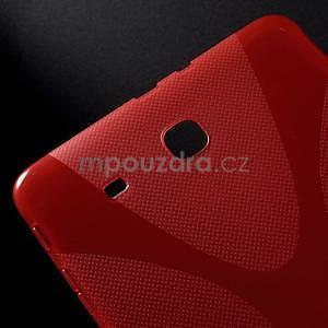 X-line gélové puzdro pre tablet Samsung Galaxy Tab E 9.6 - červené - 4