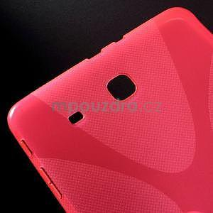 X-line gélové puzdro na tablet Samsung Galaxy Tab E 9.6 - rose - 4