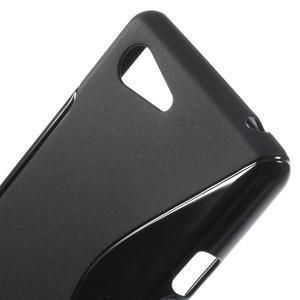 S-line gélový obal pre Sony Xperia E3 - čierny - 4