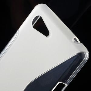 S-line gelový obal na Sony Xperia E3 - transparentní - 4