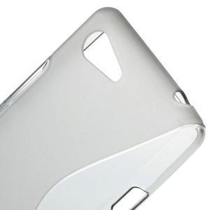 S-line gélový obal pre Sony Xperia E3 - sivý - 4
