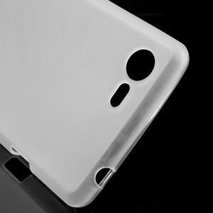 Matný gelový obal na mobil Sony Xperia E3 - transparentní - 4