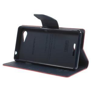 Richmercury puzdro pre mobil Sony Xperia E3 - červené - 4