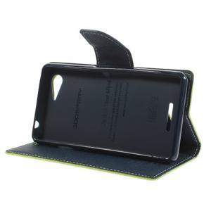 Richmercury puzdro pre mobil Sony Xperia E3 - zelené - 4