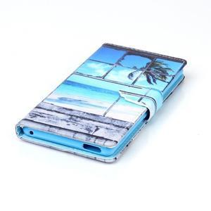 Emotive puzdro pre mobil Sony Xperia M4 Aqua - plážová scenérie - 4