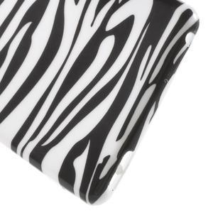Emotive gelový obal na Sony Xperia M4 Aqua - zebra - 4